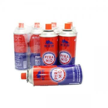 Portable Camping Bbq Accessories Butane gas canister in gas cylinder