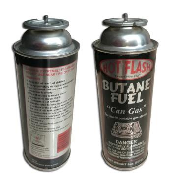 Butane Refill Gas Cartridge and empty butane gas bottle made in china