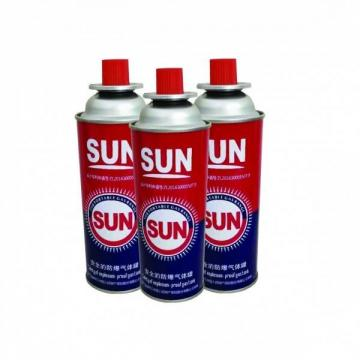 220g~250g Butane Gas Factory direct Butane Cans for sale