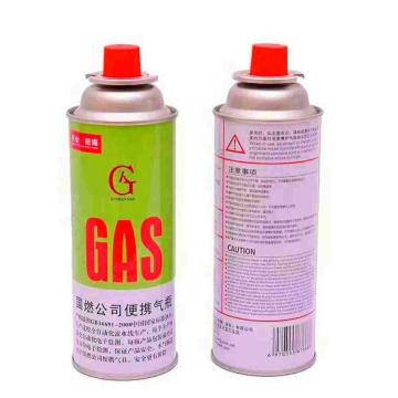 300ml factory butane gas/Portable gas bottle/gas stove can 220g