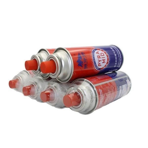 190g 220g 250g Aerosol Can Empty Camping Refill Butane Gas Cartridge Canister #3 image
