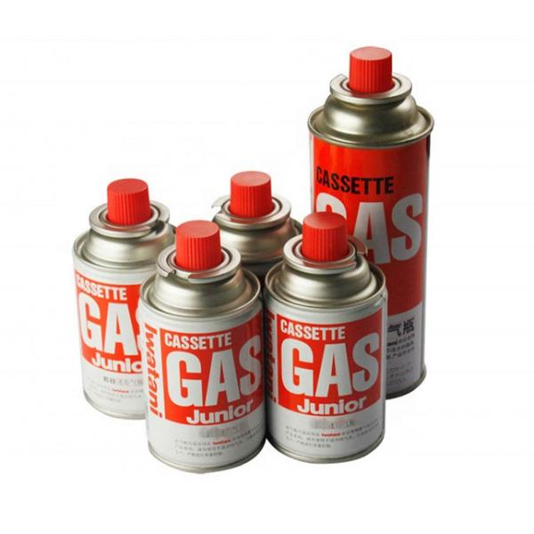 Low pressure butane gas cartridge 3kg portable camping gas bottle with CRV #2 image