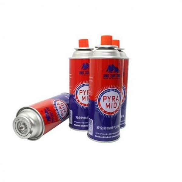 China butane gas can 220g Refill for Portable Stove #2 image